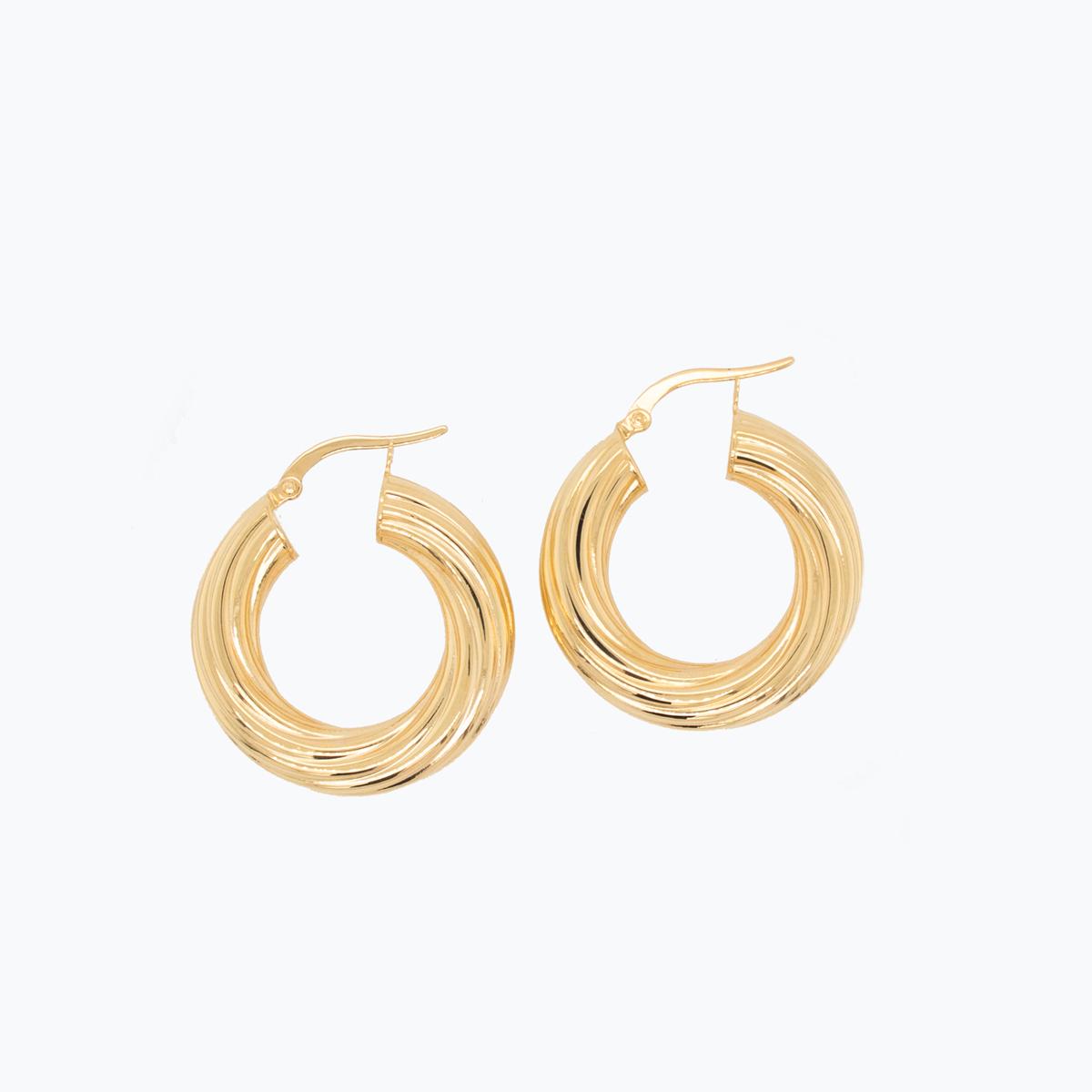 Gucci's Twizzler Hoop Earrings