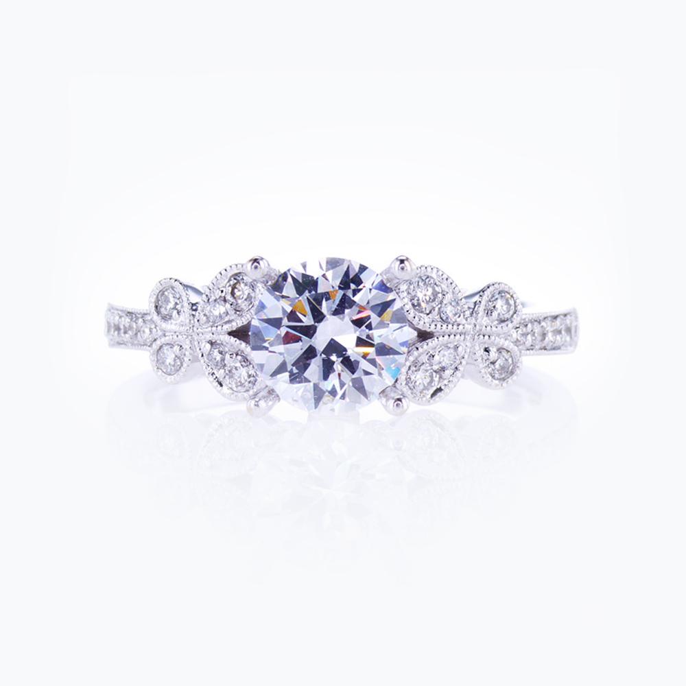 Dino Lonzano Nature-inspired Engagement Ring