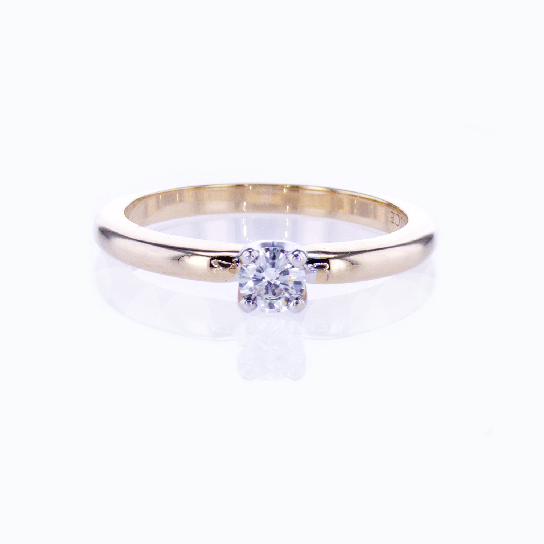 Preset Diamond Solitaire Engagement Ring