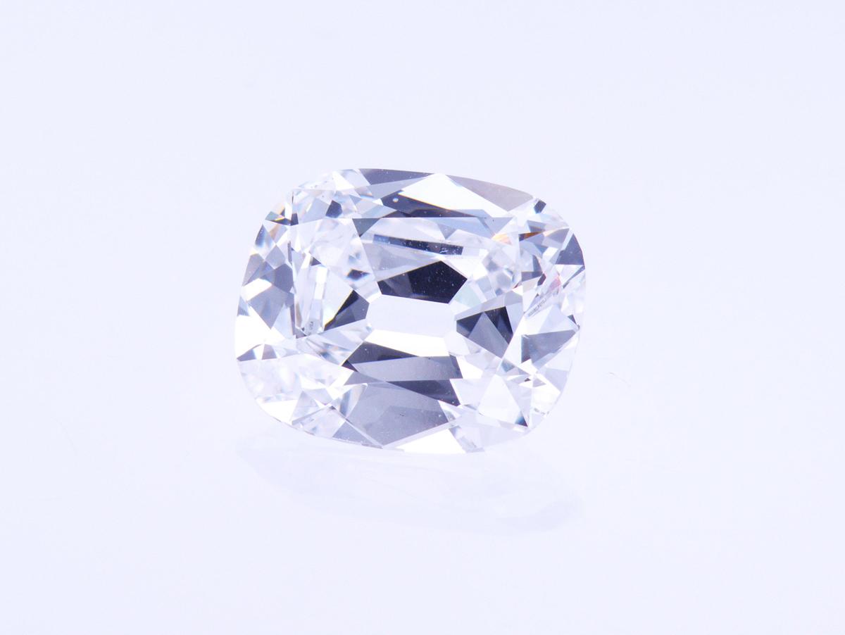 2.09 Carat Cushion Brilliant Loose Diamond, E, VS2