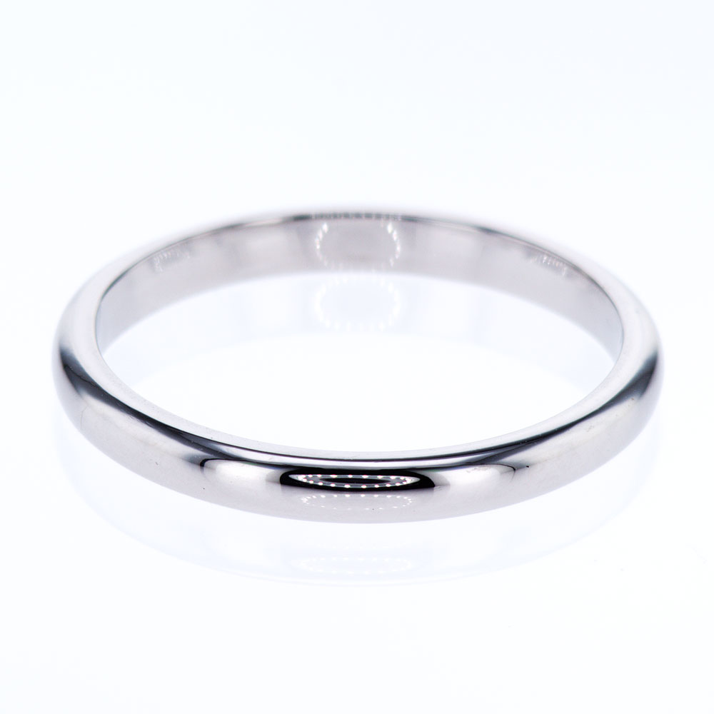 Vintage Classic Wedding Band, Platinum