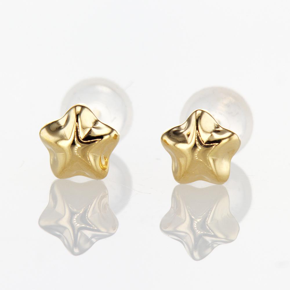 Bubble Star Stud Earrings