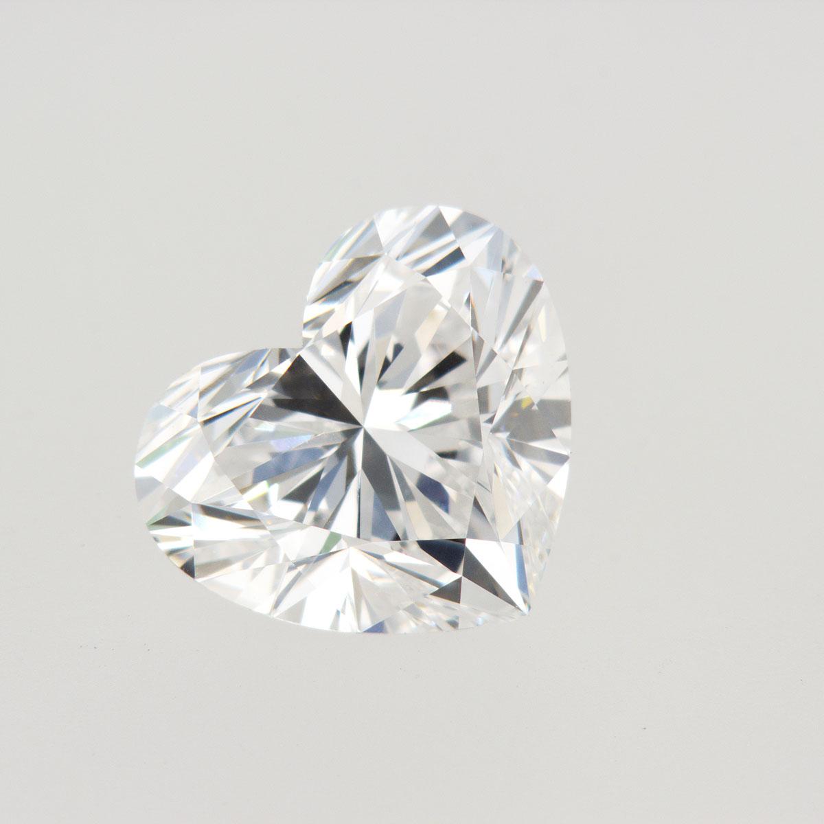 3.02-Carat Heart Brilliant Lab-grown Diamond
