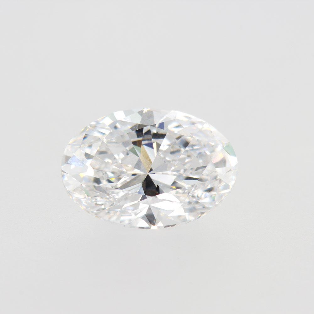 3.02 Carat Lab Created Oval Brilliant Diamond