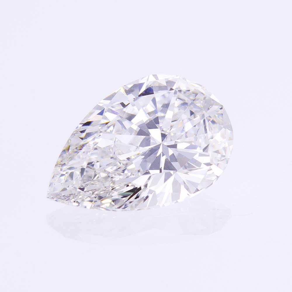 3.02 Carats Pear Brilliant Diamond, Lab-grown| I | VS1