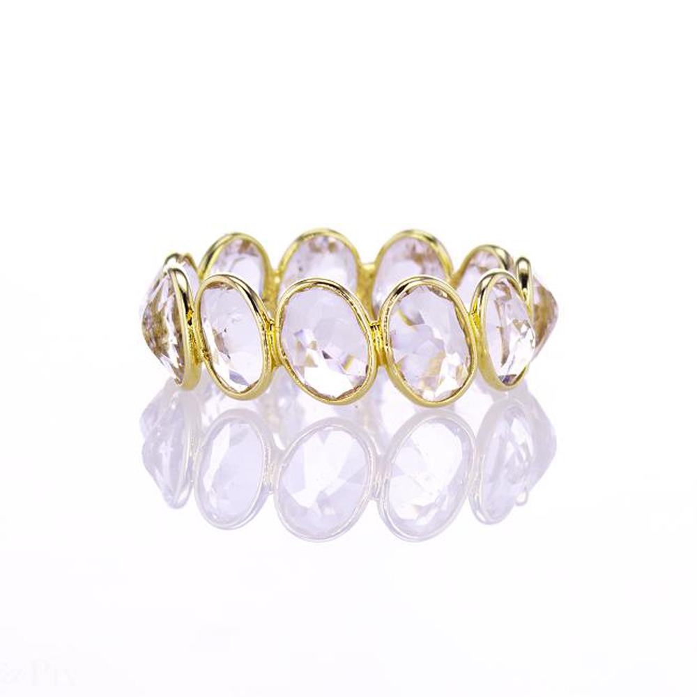 Oval Morganite Eternity Ring