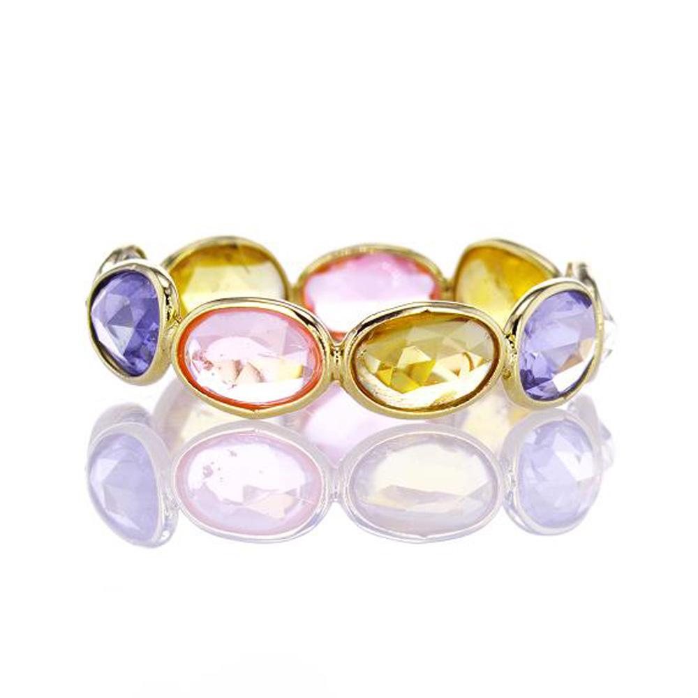 Rainbow Multi-Shape Sapphire Ring