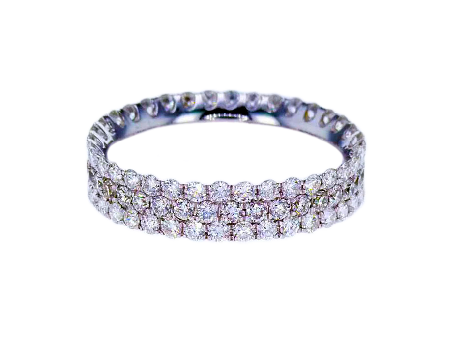 Diamond Eternity Bands made in DC