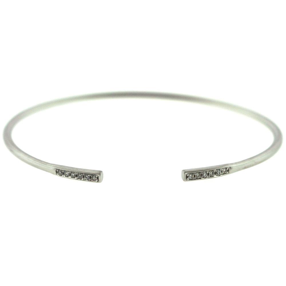 Line Diamond Bar Bracelet