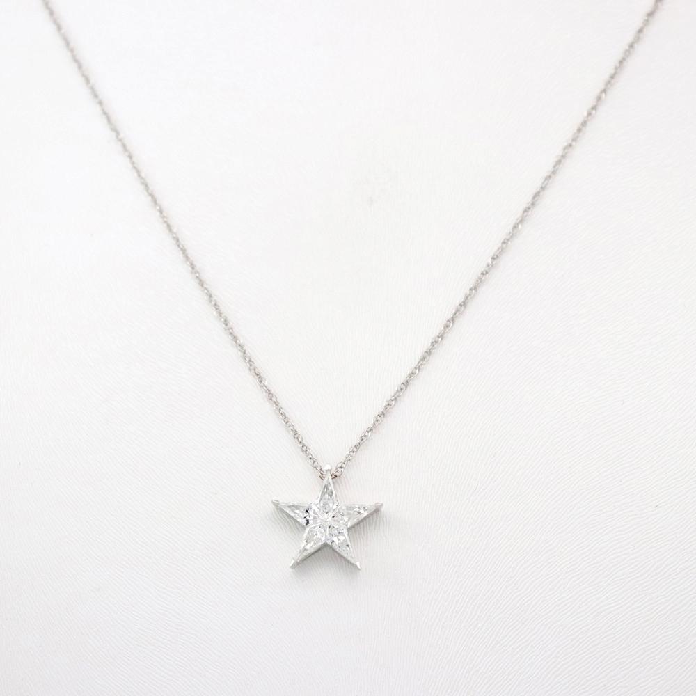 Diamond Star Pendant Necklace