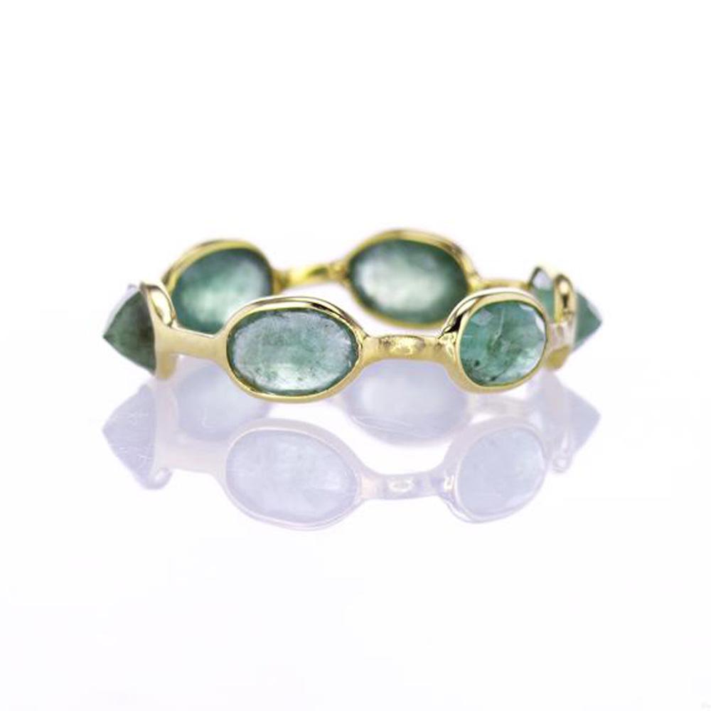 Dashing Emerald Ring